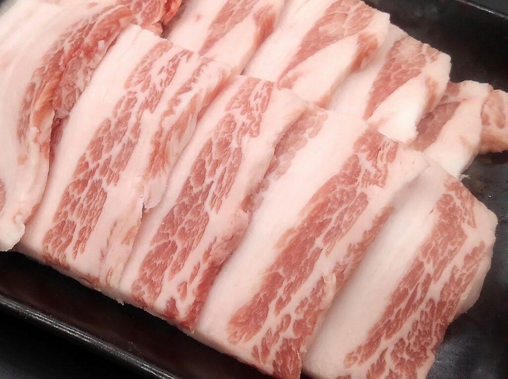 紀州うめぶたプレミアム焼肉用バラ肉画像